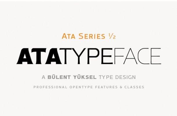Ata Type Font Family