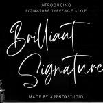 Brilliant Handwritten Font