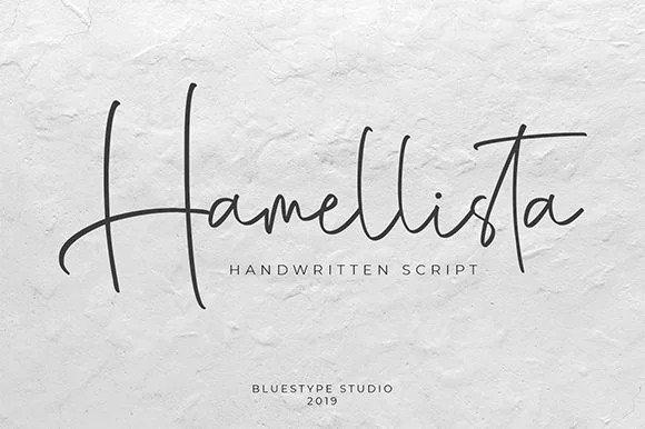 Hamellista Script Font