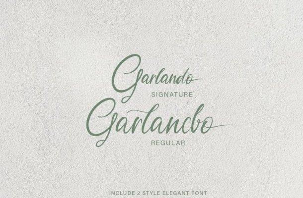 Garlando Font