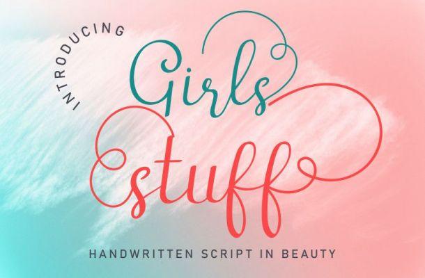 Girls Stuff Font