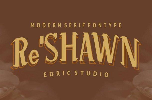 Re'shawn Vintage Font