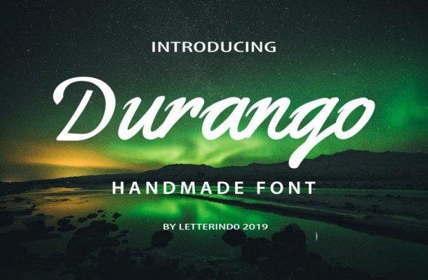 DURANGO Script Font Free