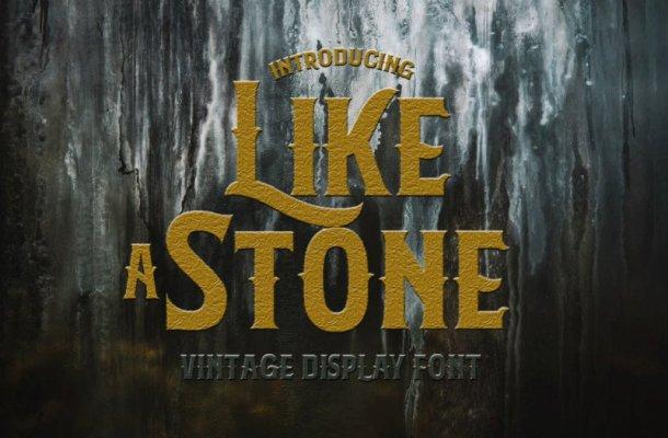 LikeAStone Vintage Font Free