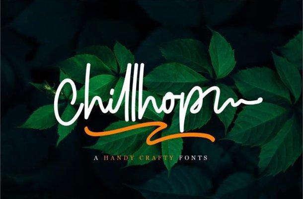 Chillhop Script Font Free