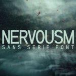Nervousm Sans Serif Font Demo