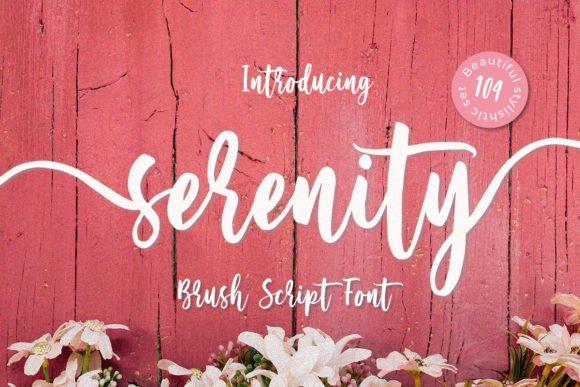 Serenity Script Font Free
