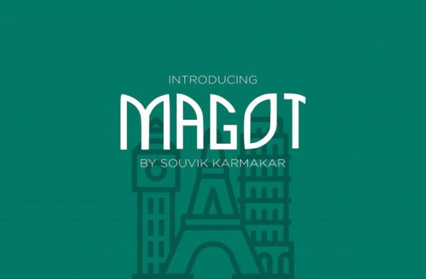 Magot Display Font