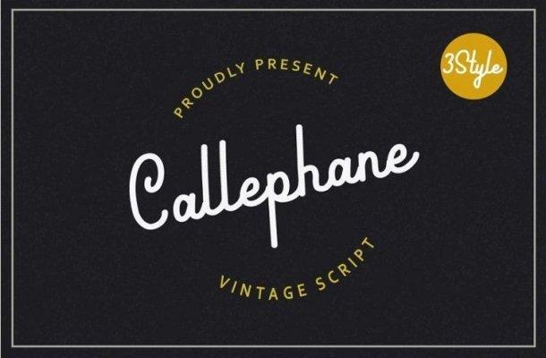 Callephane Font