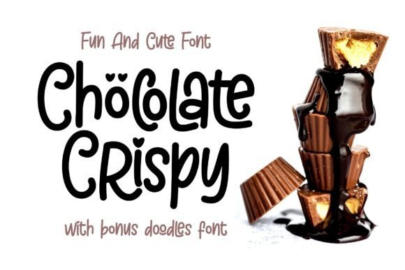 Chöcolate Crispy – Fun and Cute Font