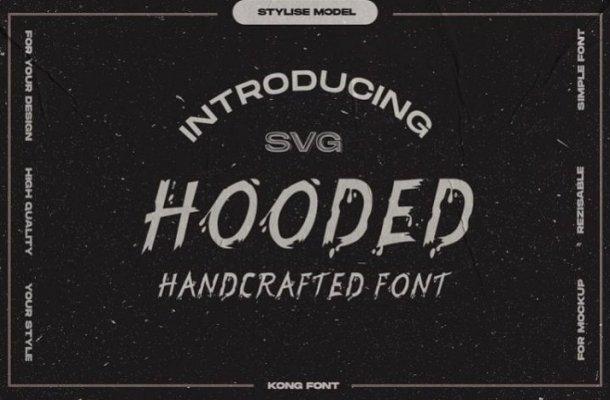 Hooded Brush Font