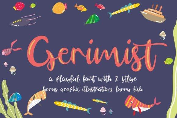 Gerimist Playful Font
