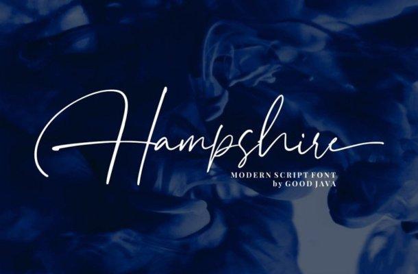 Hampshire Script Font