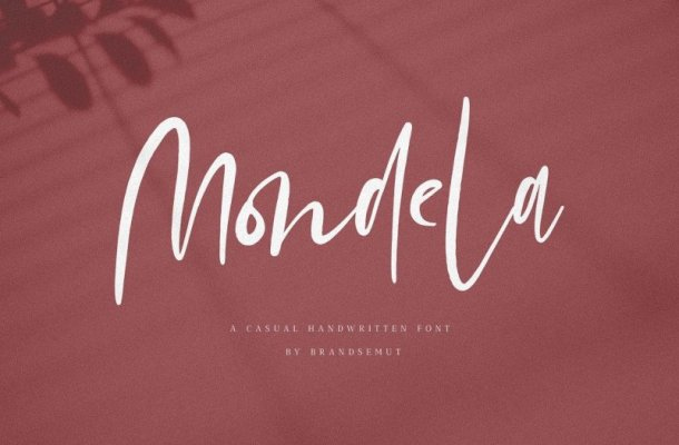 Mondela Handwritten Font