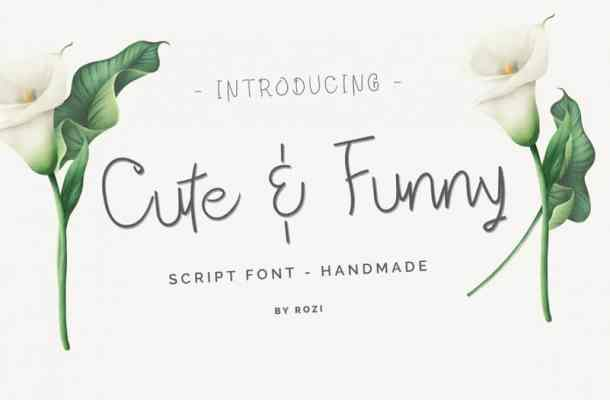 Cute & Funny Font