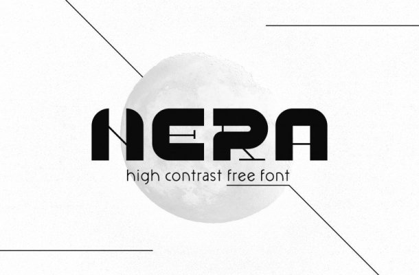 NERA Display Font