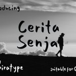 Cerita Senja – Quotes Font