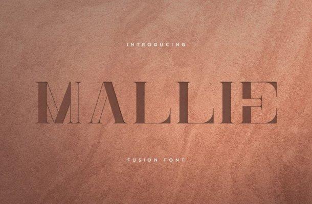 Mallie – Fusion Font
