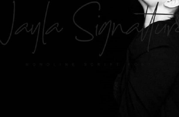 Nayla Signattures Font