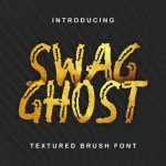 Swag Ghost Font