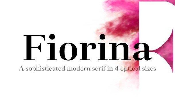 Fiorina Font Family
