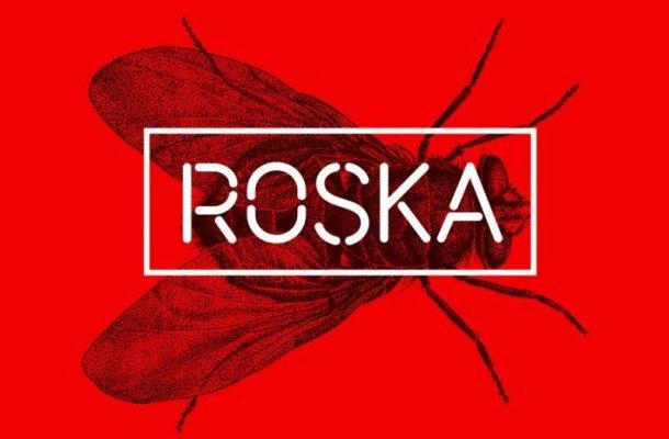 Roska – Stencil Font