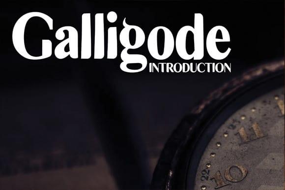 Galligode Font Free