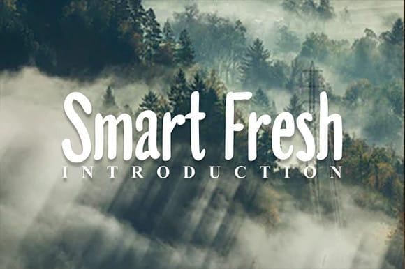 Smart Fresh Font
