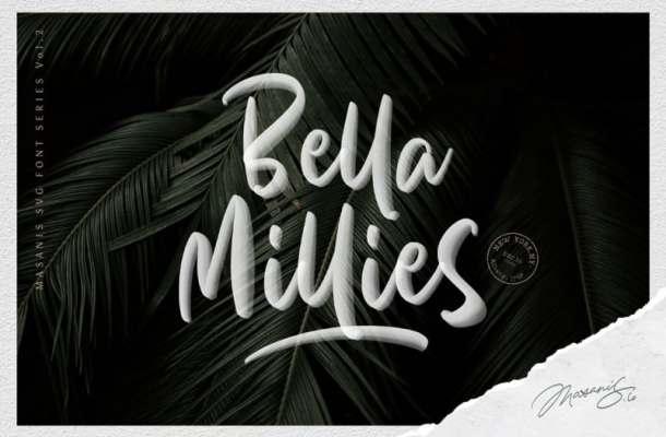 Bella Millies Script Font