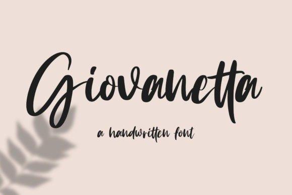 Giovanetta Script Font