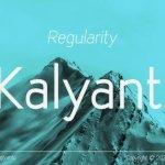Kalyant Sans Font Family