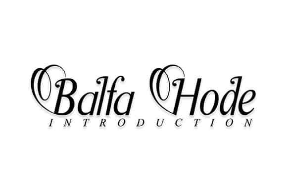 BalfaHode Serif Font