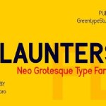 Flaunters Sans Serif Font