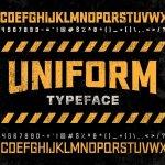 Uniform Typeface