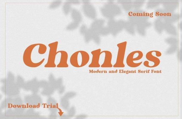 Chonles Serif Font