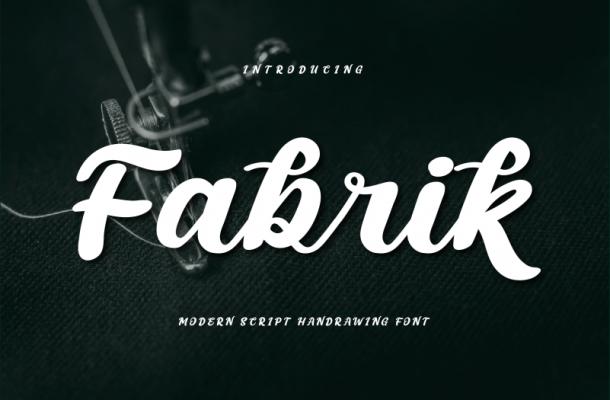 Fabrik Script Font