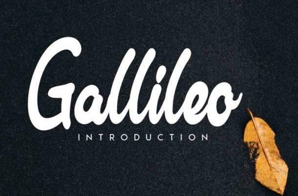 Gallileo Handwritten Font