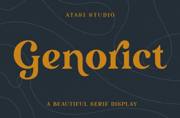 Genorict Serif Display Font