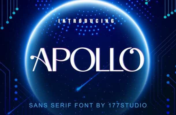 Apollo Sans Serif Font – Free Demo