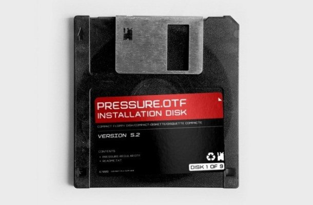 FPD Pressure Sans Serif Font