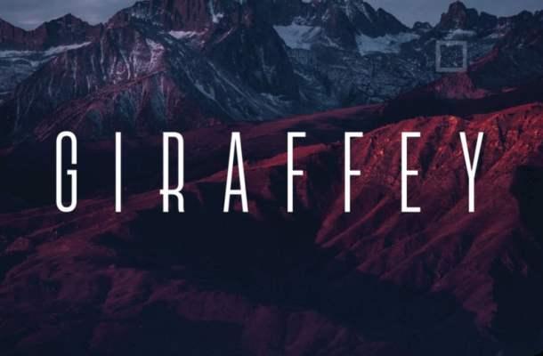 Giraffey – Elegant Free Font