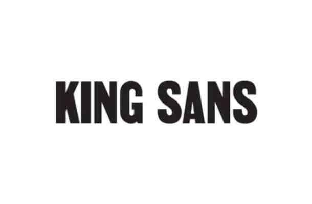 King Sans Serif Font