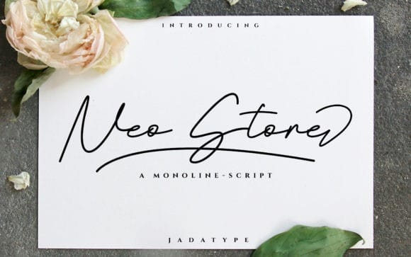 Neo Stone Handwritten Font