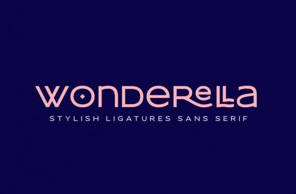 Wonderella Sans Serif Font