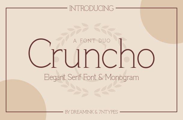 Cruncho Elegant Serif Font