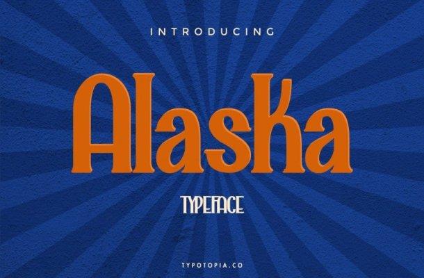 Alaska Serif Font Free