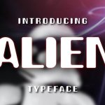 Alien Display Font Free