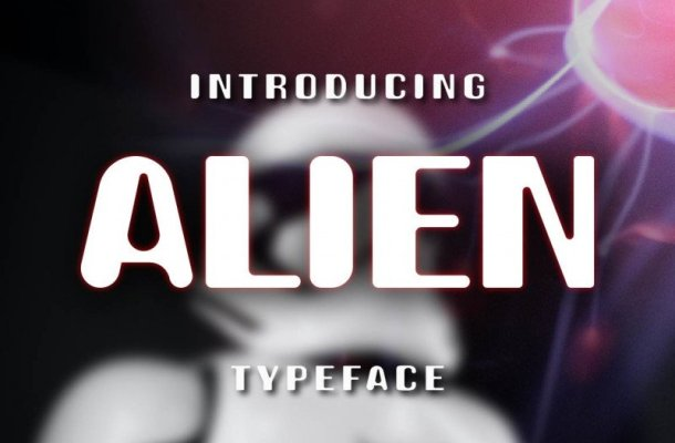Alien Display Font Free