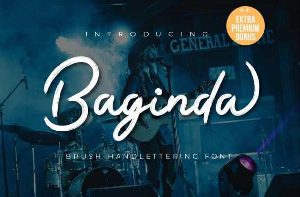 Baginda Script Font Free