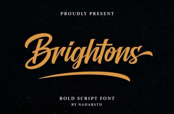 Brightons Script Font Free